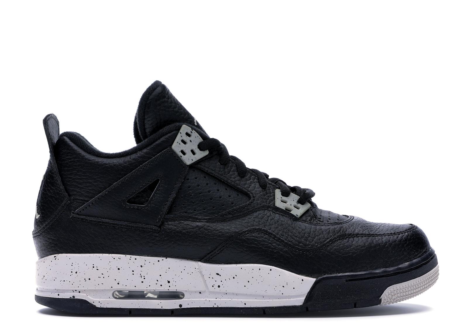 Jordan 4 Retro Oreo 2015 (GS) - 408452-003