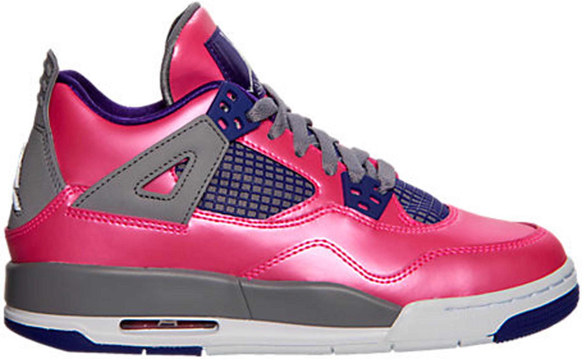 Jordan 4 Retro Pink Foil (GS) - 487724-607