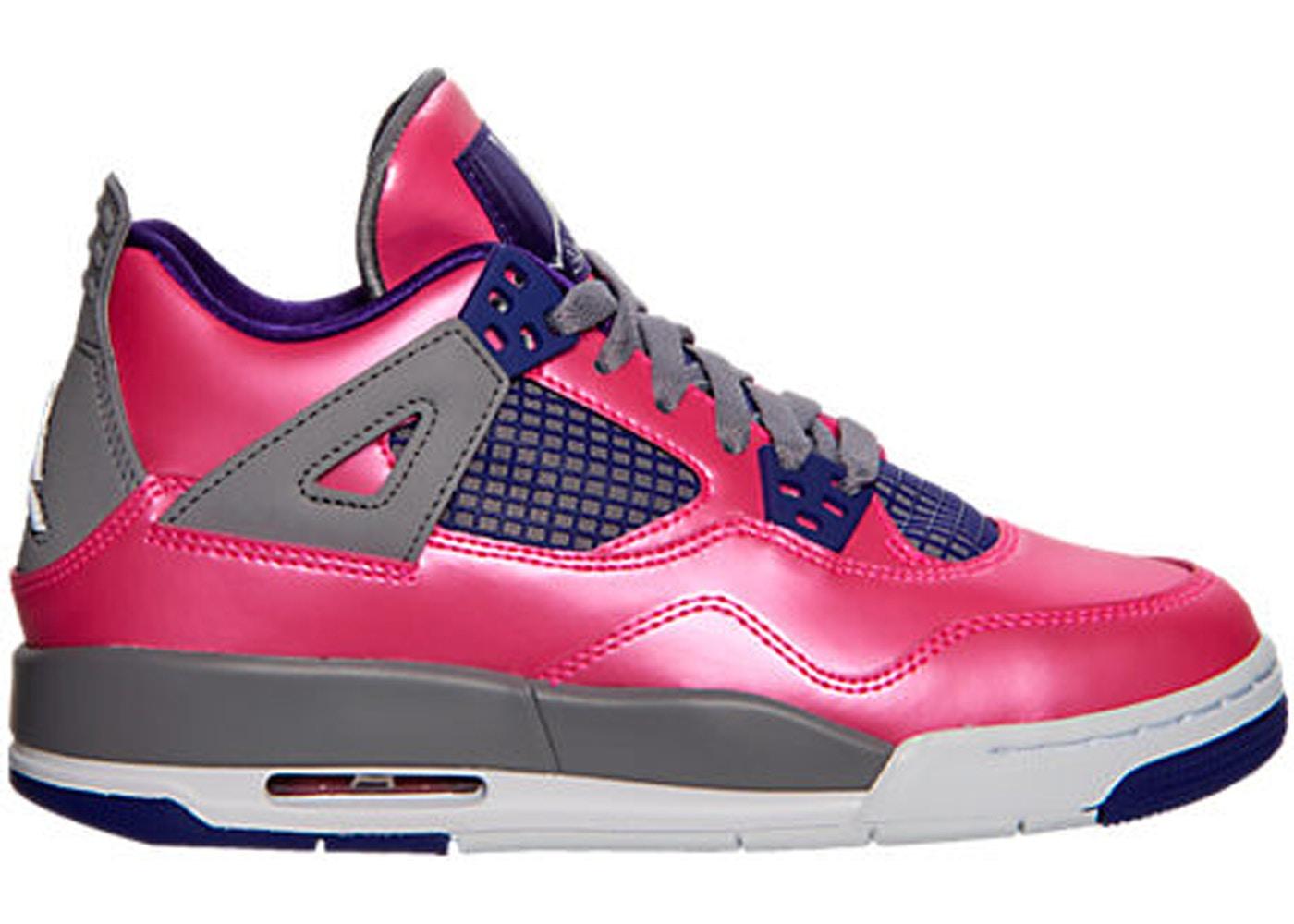 11efdba1f8c2b0 Jordan 4 Retro Pink Foil (GS) - 487724-607