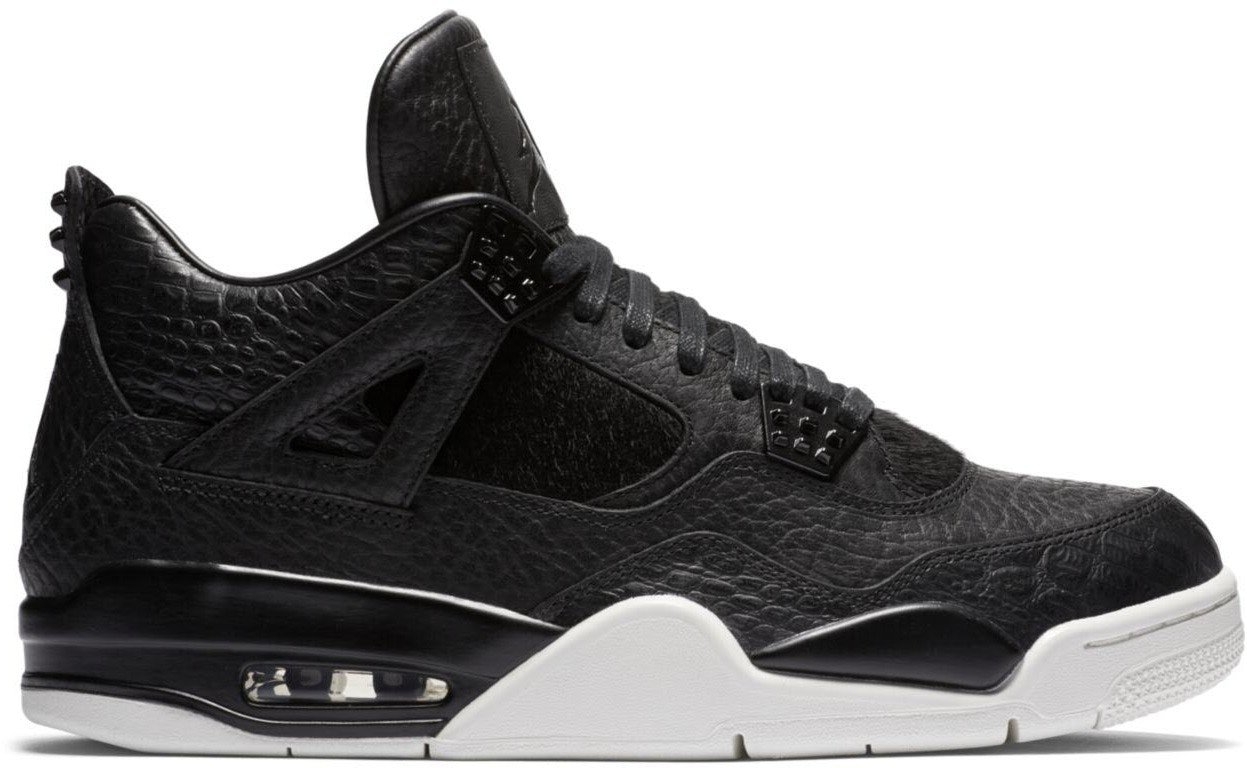 Jordan 4 Retro Pony Hair Black