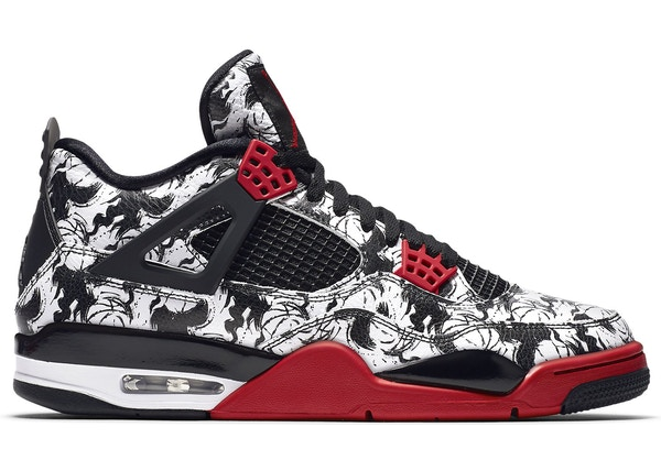 air jordan 4 noir rouge