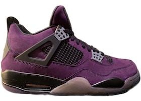 separation shoes 0bb21 a3dcb Jordan 4 Retro Travis Scott Purple (Friends and Family)