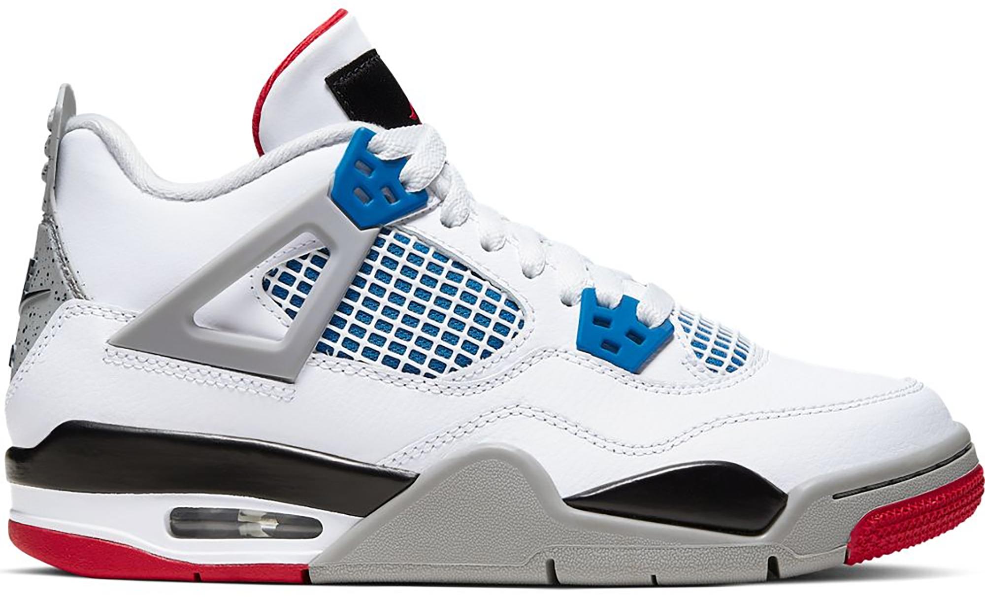 Jordan 4 Retro What The (GS) - 408452-146