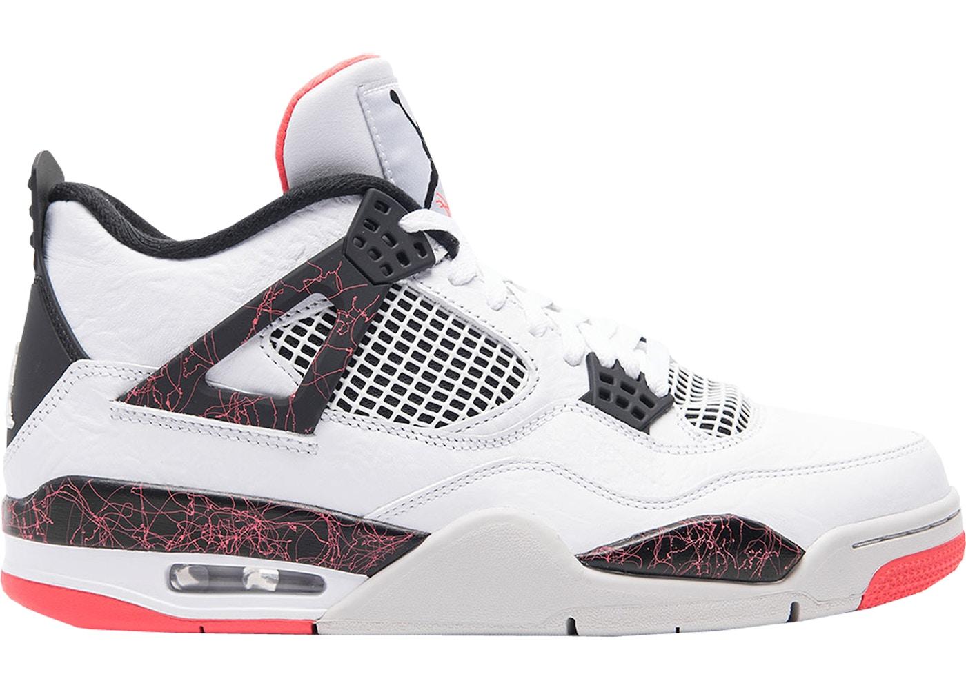new product fce96 8f166 Jordan 4 Retro White Black Bright Crimson • Buy/Sell