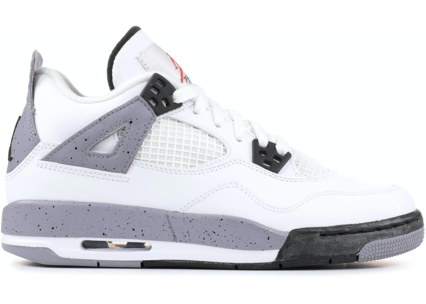 fad04391b92cf7 Jordan 4 Retro White Cement 2012 (GS) - 408452-103