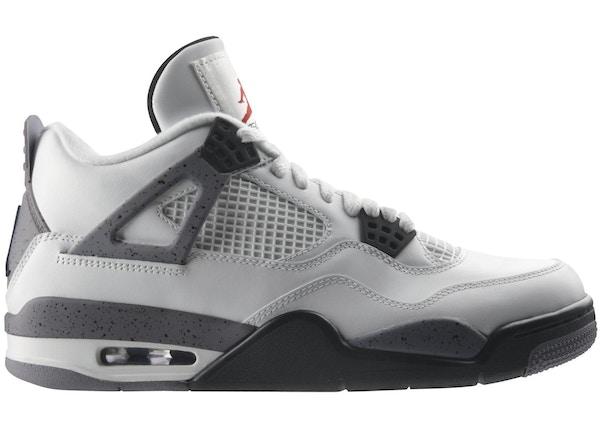 hot sale online df16d 23860 Jordan 4 Retro White Cement (2012) - 308497-103