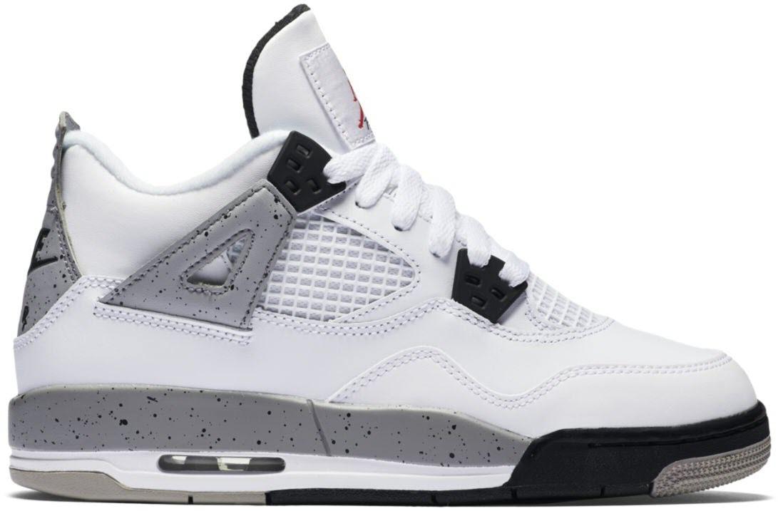 Jordan 4 Retro White Cement 2016 (GS)