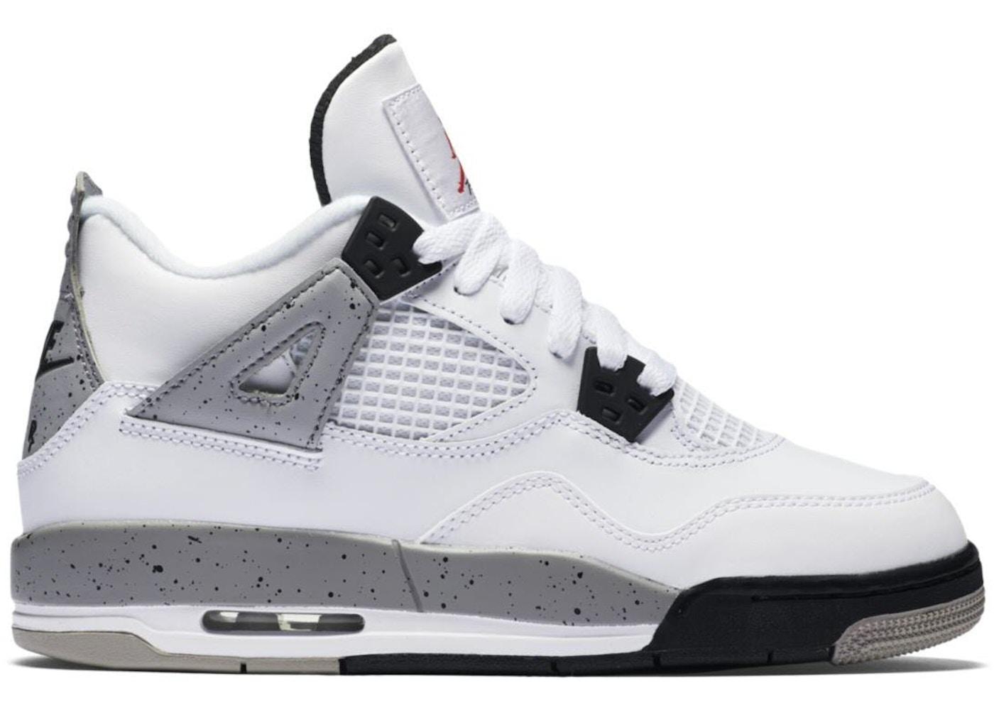 Jordan 4 Retro White Cement 2016 (GS) - 836016-192 727b25fad592