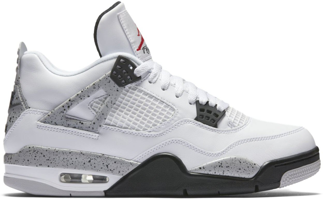 air jordans white cement 4
