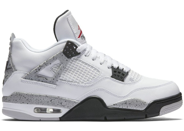 finest selection ae35e 9a653 Jordan 4 Retro White Cement (2016) - 840606-192