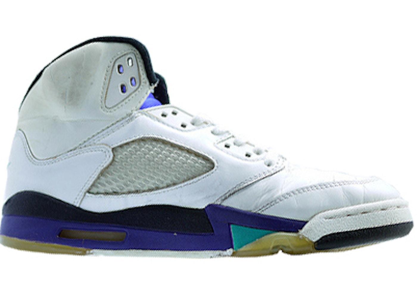 94f64bb176b Jordan 5 OG Grape (1990) - 4490