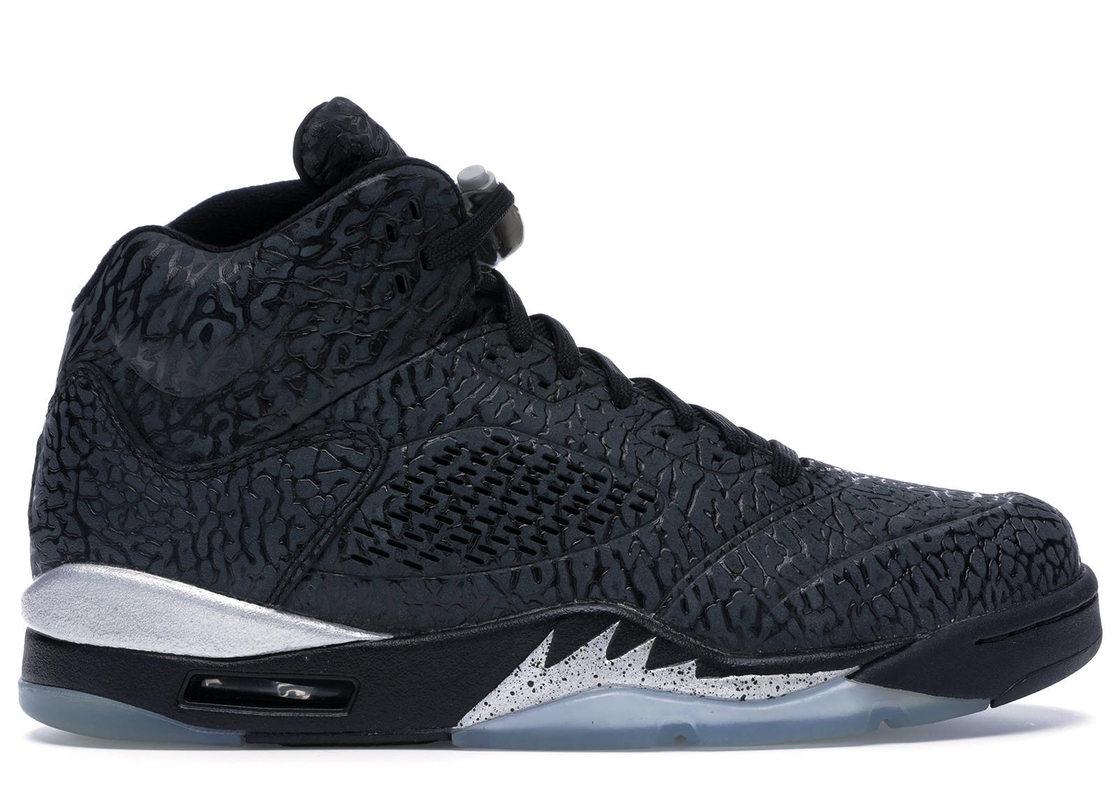 Jordan 5 Retro 3Lab5 Black Silver