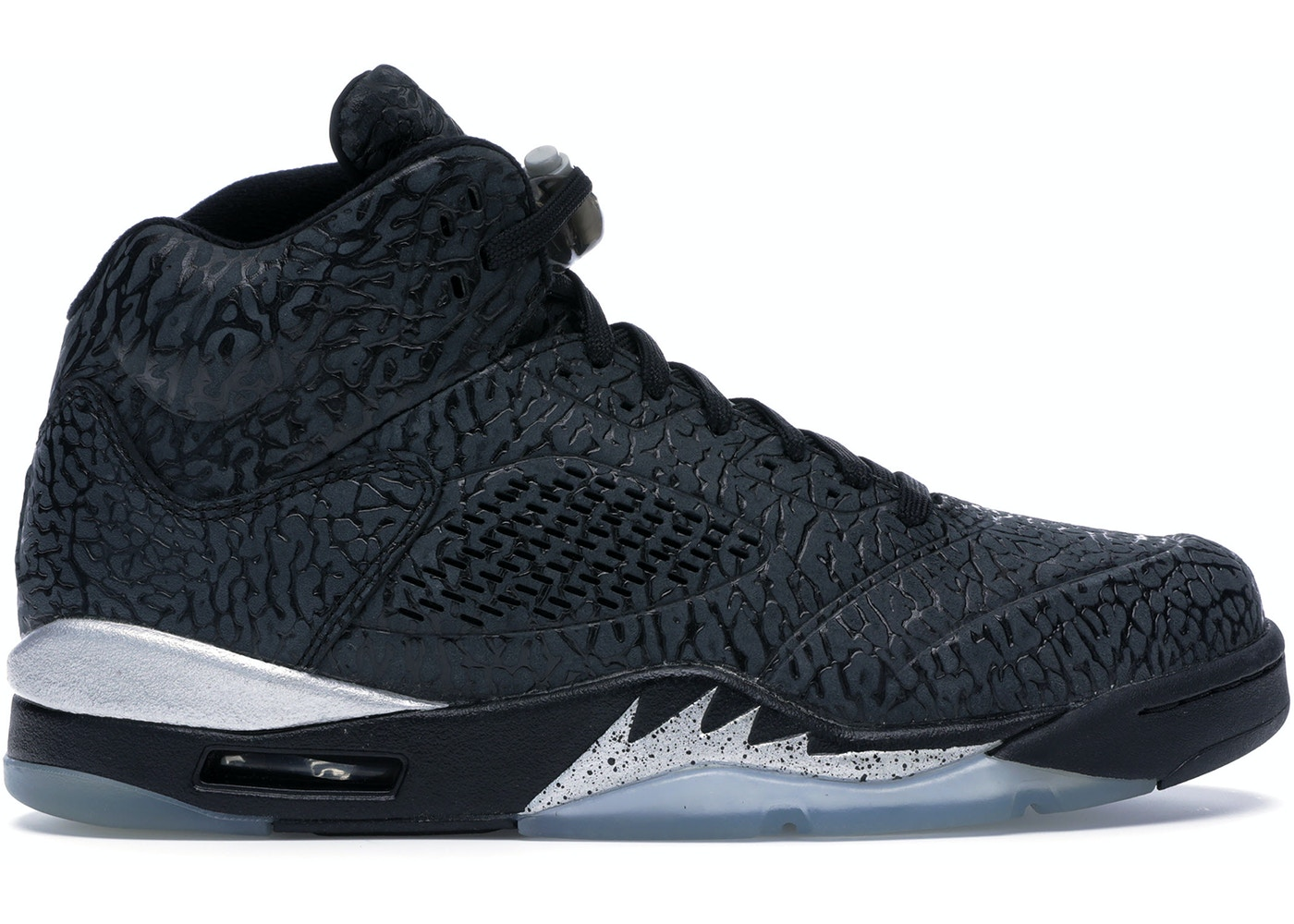 cheap for discount 4fa6d 47557 Jordan 5 Retro 3Lab5 Black Silver - 599581-003