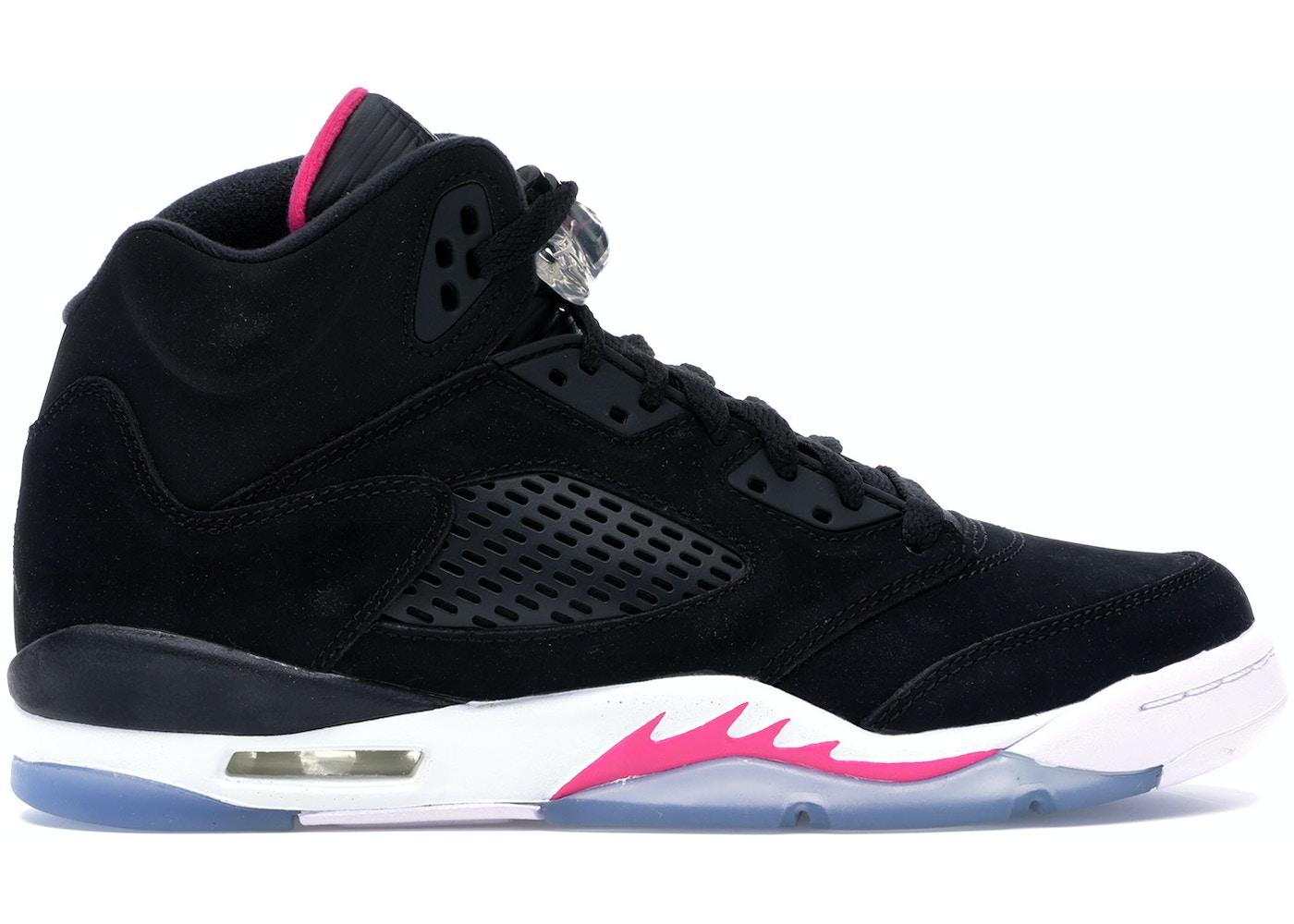 meet 74105 be732 Jordan 5 Retro Black Deadly Pink (GS)