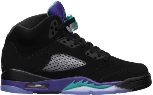 Jordan 5 Retro Black Grape 2013 (GS)