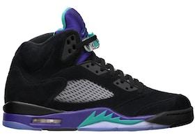 info for 94719 d62fd Jordan 5 Retro Black Grape (2013) - 136027-007