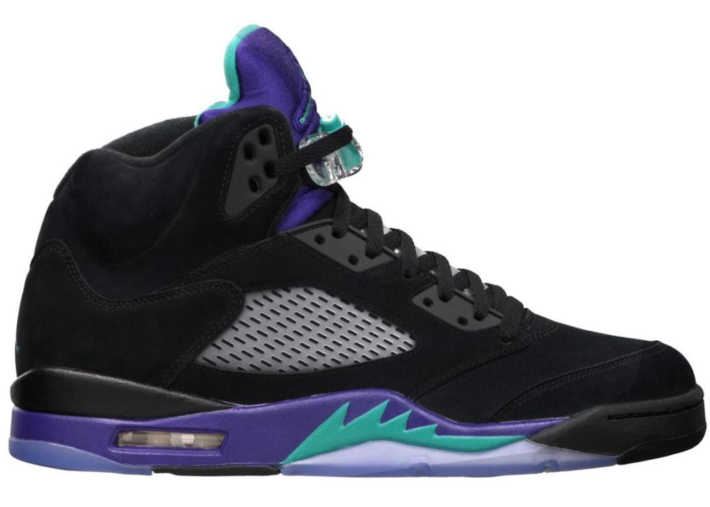 info for d9763 91260 Jordan 5 Retro Black Grape (2013) - 136027-007
