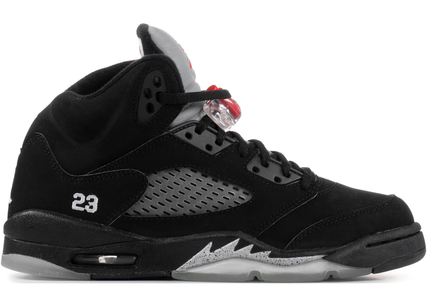 contenido Furioso Recuerdo  Jordan 5 Retro Black Metallic 2007 (GS) - 134092-004