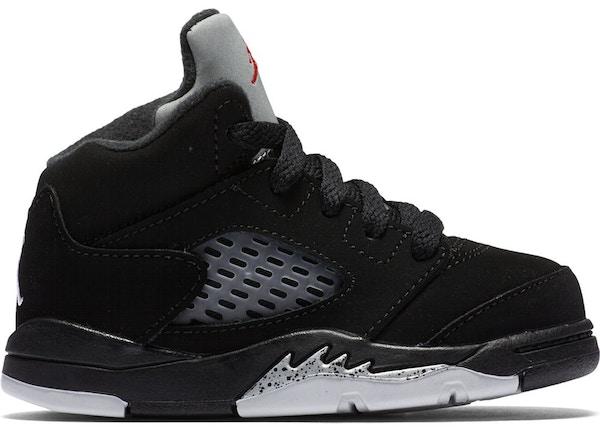 1410dbdfe14ab8 Jordan 5 Retro Black Metallic 2016 (TD) - 440890-003