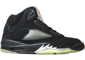 new photos fd79d a2125 Jordan 5 Retro Black Metallic (2000) - 136027-001