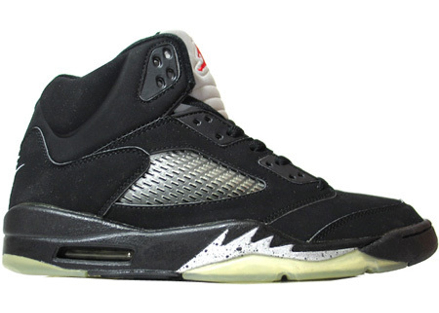 new photos e01cd 2ce98 Jordan 5 Retro Black Metallic (2000) - 136027-001
