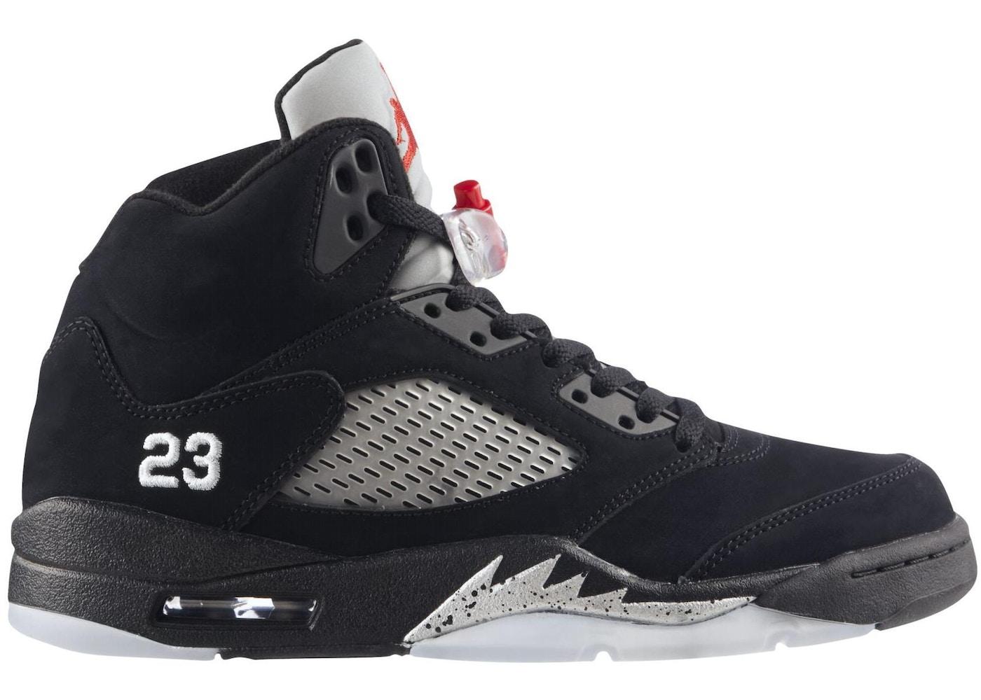 878511203284 Jordan 5 Retro Black Metallic (2011) - 136027-010