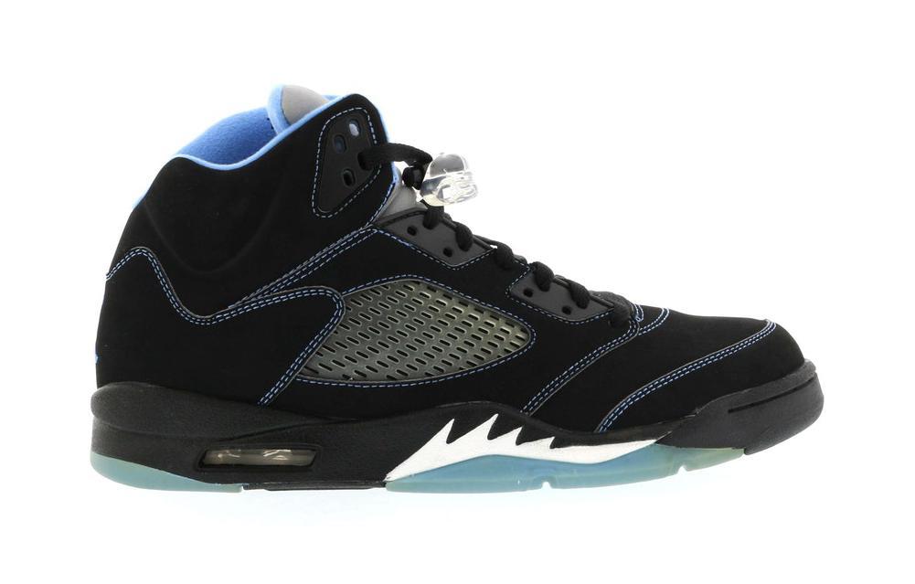 Jordan 5 Retro Black/University Blue