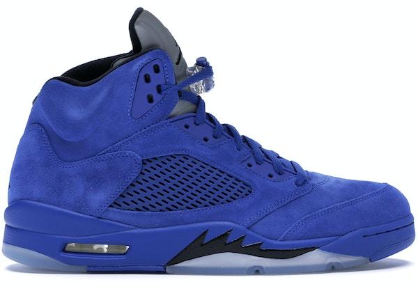 sports shoes 2f2b4 36068 Jordan 5 Retro Blue Suede - 136027-401