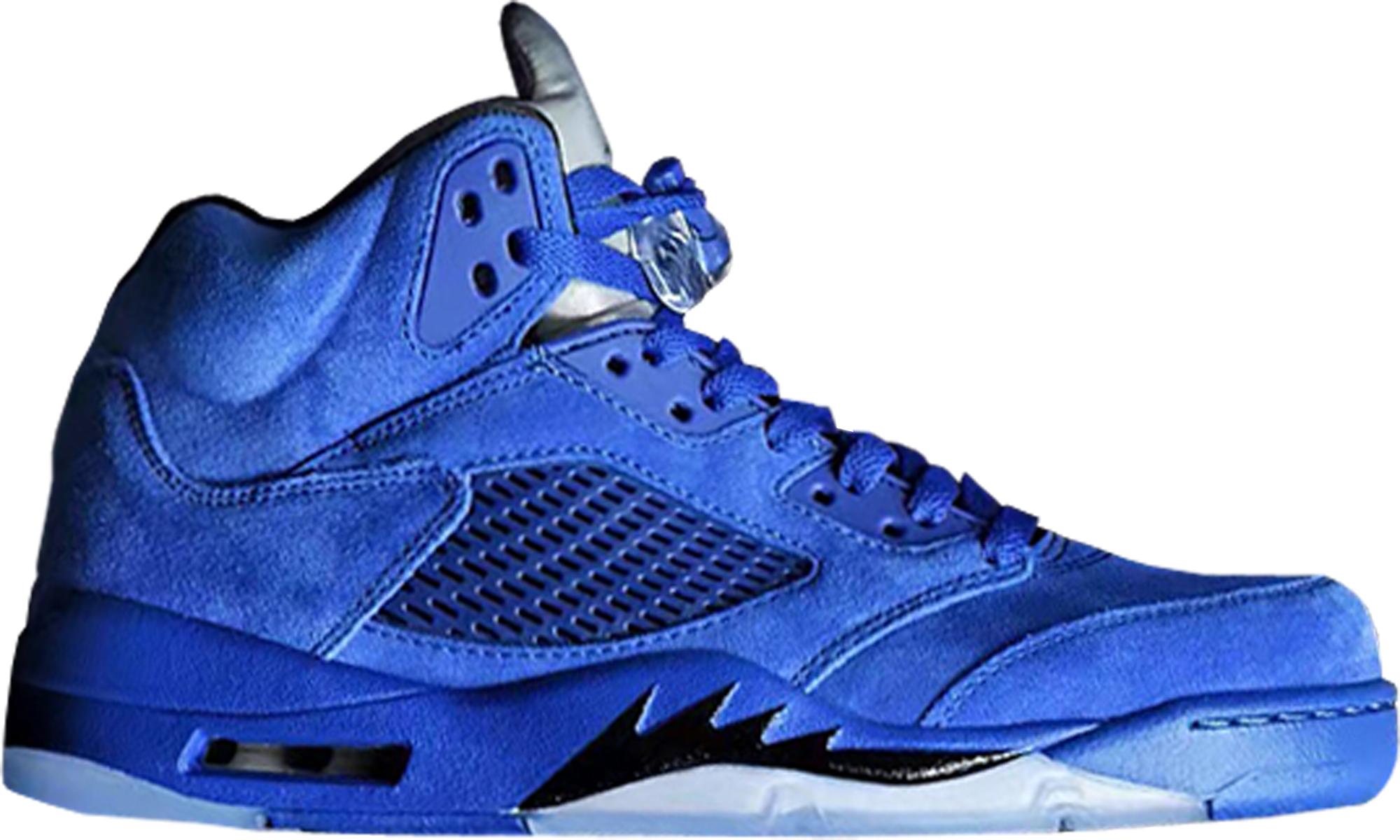 cheap air jordan 5s blue