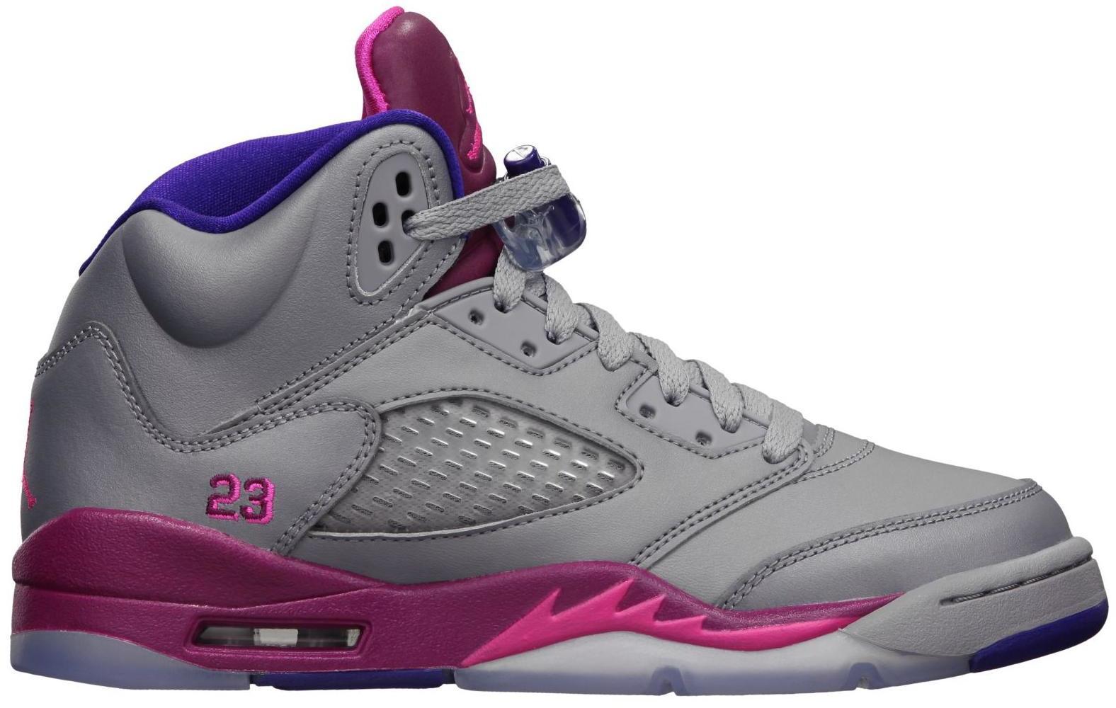 Jordan 5 Retro Cement Grey Pink (GS