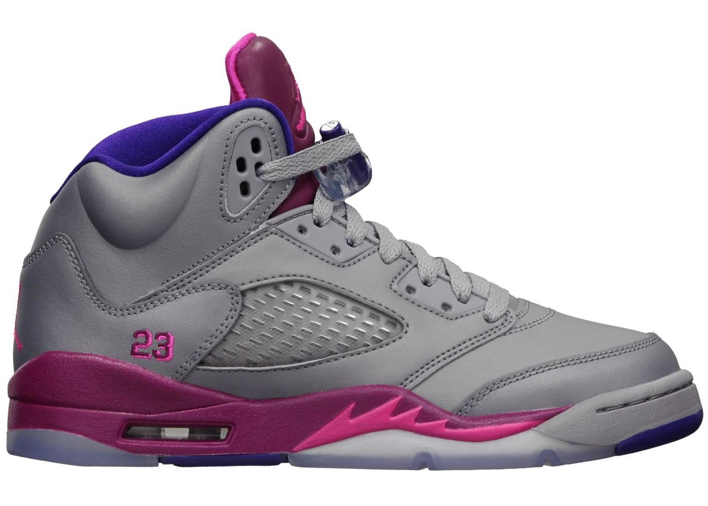 c17c51bda52f Jordan 5 Retro Cement Grey Pink (GS) - 440892-009