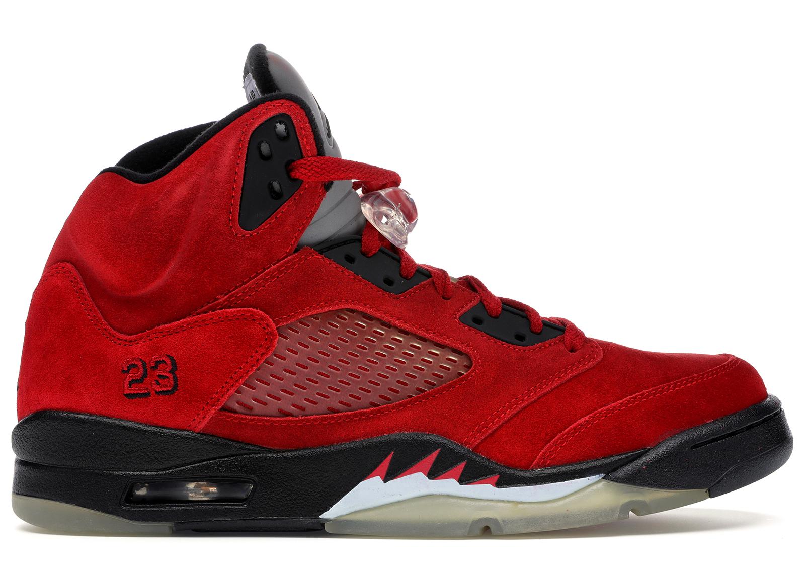Jordan 5 Retro DMP Raging Bull Red
