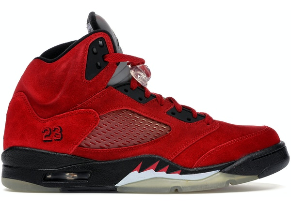 buy online f7cee 6d31d Jordan 5 Retro DMP Raging Bull Red Suede - 136027-601