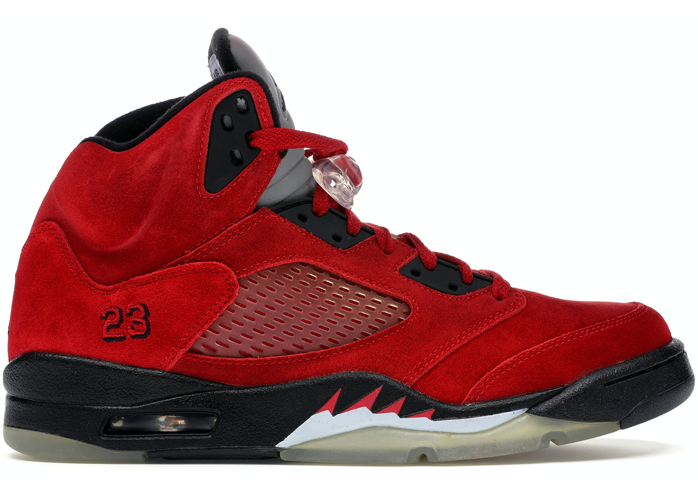 buy online 6187b 33f15 Jordan 5 Retro DMP Raging Bull Red Suede - 136027-601