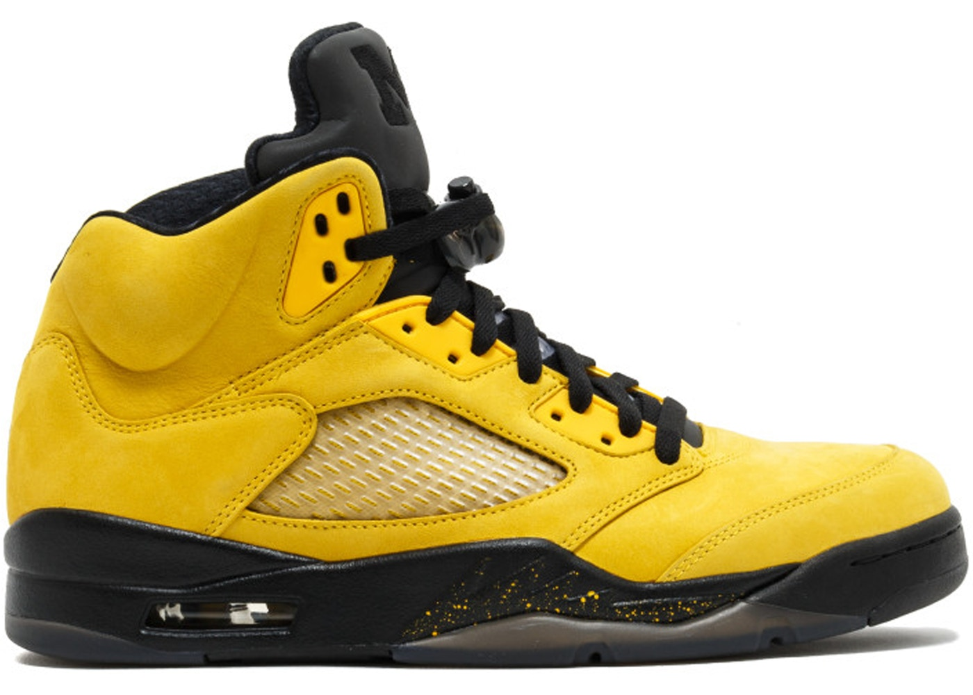 Jordan 5 Retro Fab Five PE -Yellow/Black