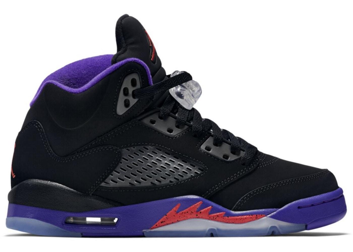 brand new 97e0f 3a87c Jordan 5 Retro Fierce Purple (GS)