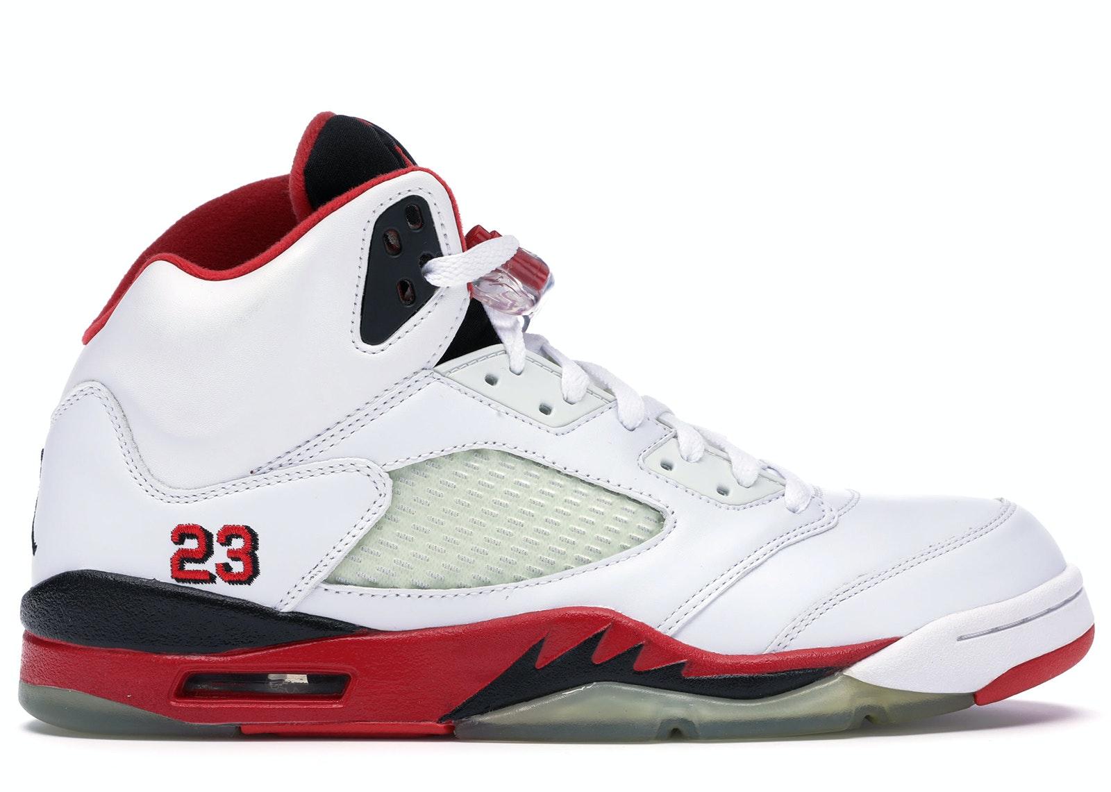 Jordan 5 Retro Fire Red (2006)