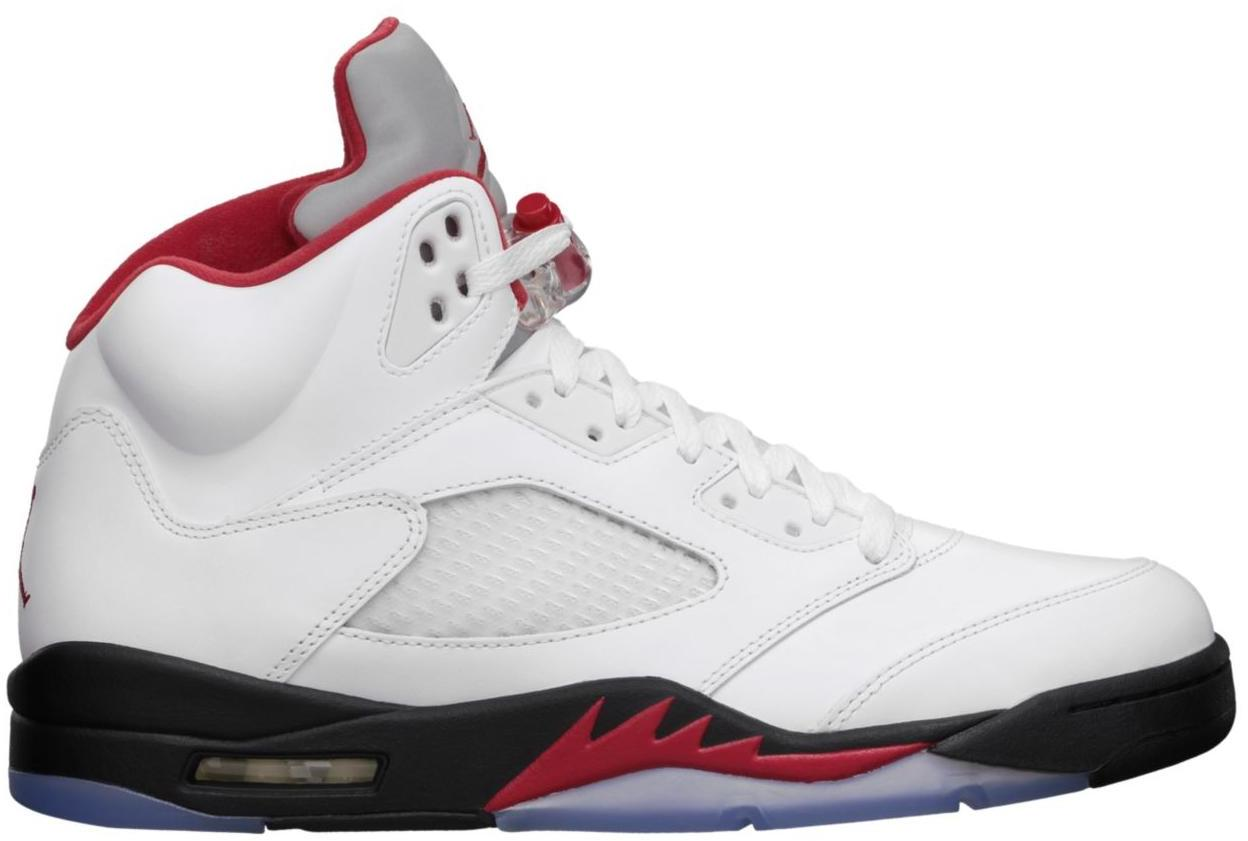 2013 Air Jordan 5 Rouge Feu