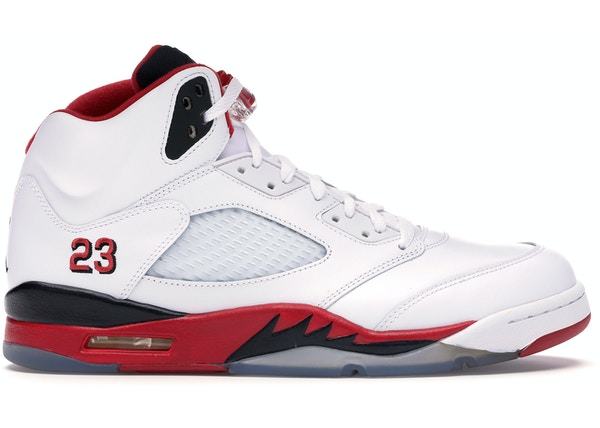4ba3afc61e8 Jordan 5 Retro Fire Red Black Tongue (2013)