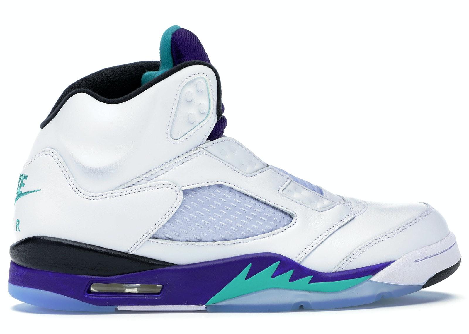 Jordan 5 Retro Grape Fresh Prince