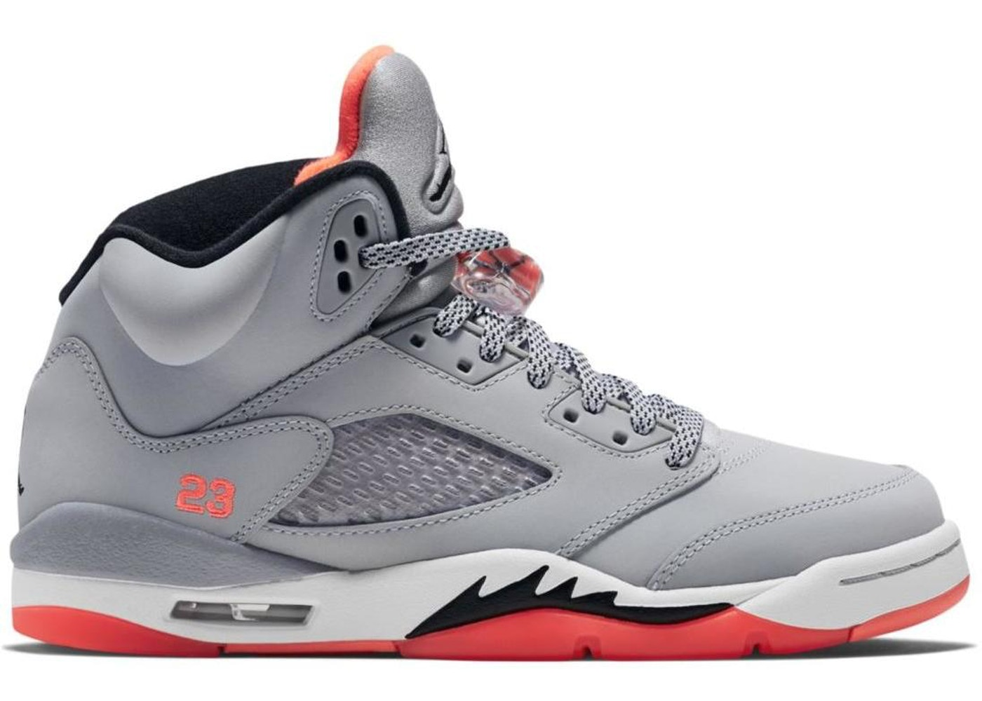 detailed look 0f023 db242 Jordan 5 Retro Hot Lava (GS)
