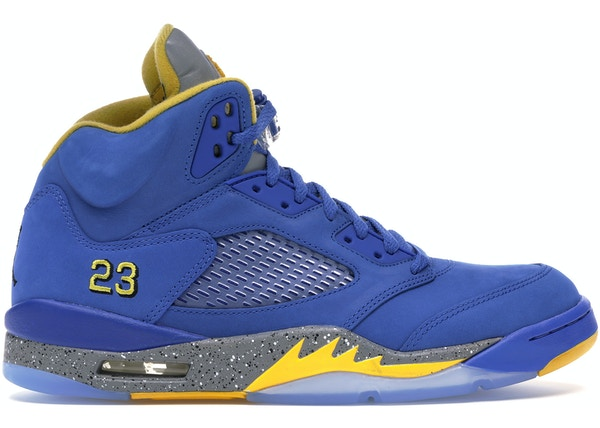 pretty nice e32e6 75353 Jordan 5 Retro JSP Laney Varsity Royal