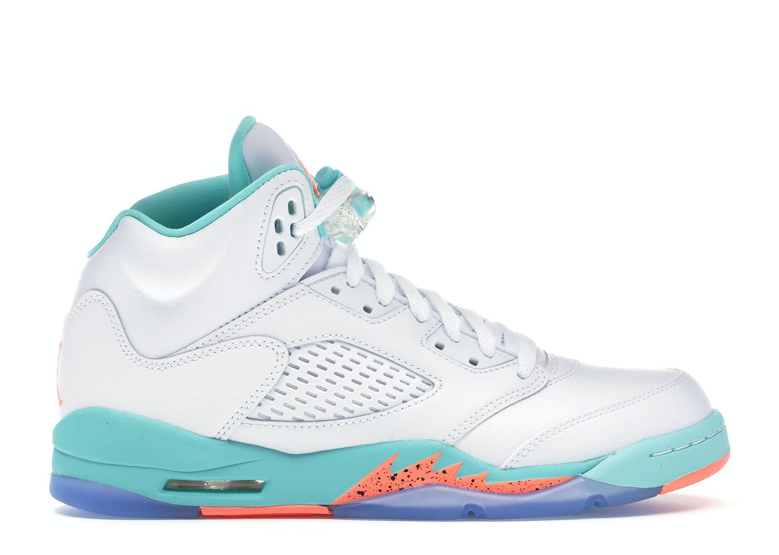 Jordan 5 Retro Light Aqua (GS)