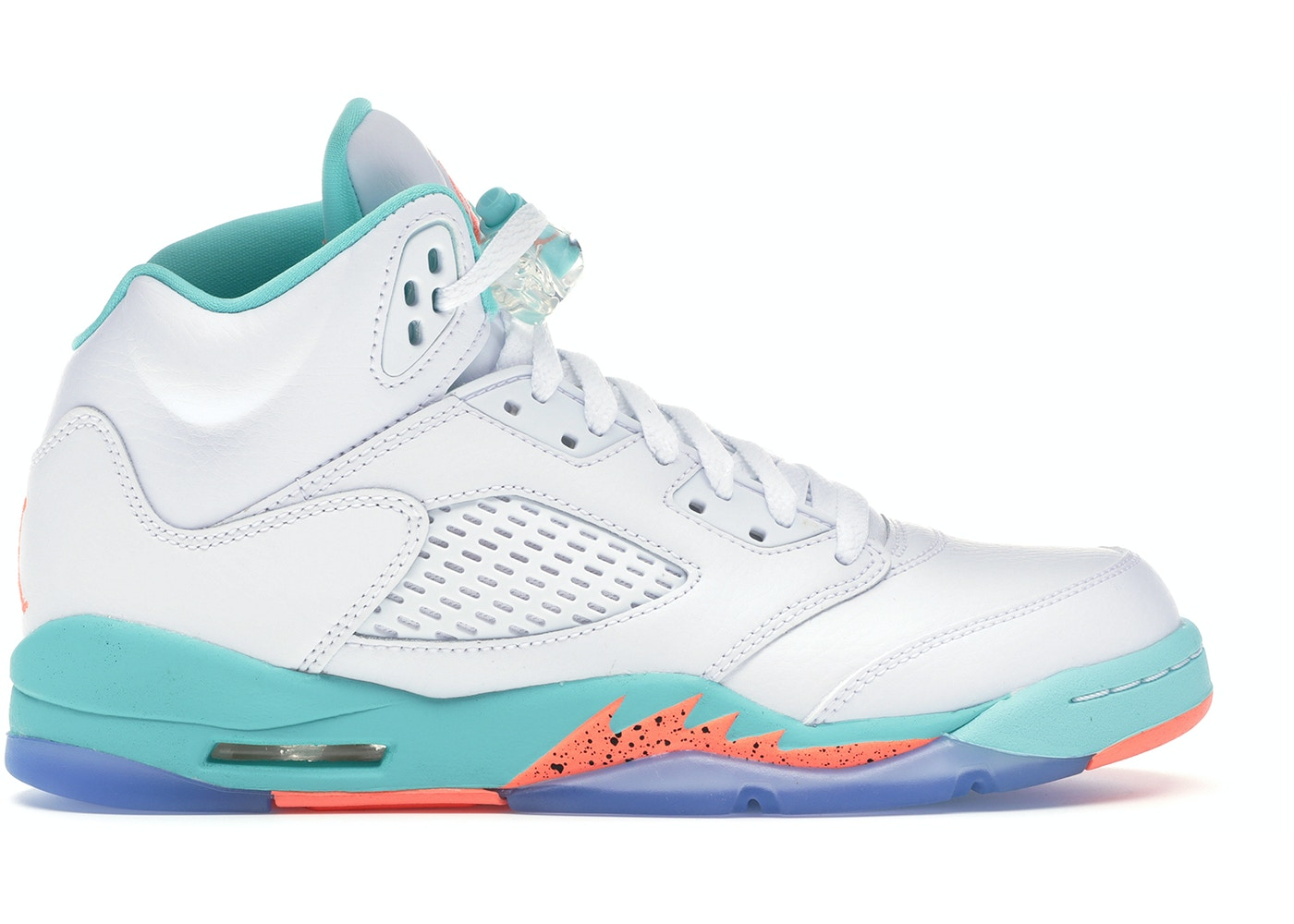 the best attitude 009b8 76394 Jordan 5 Retro Light Aqua (GS) - 440892-100