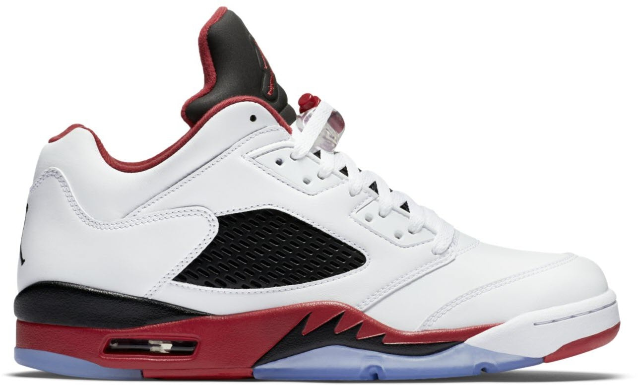 Jordan 5 Retro Low Fire Red