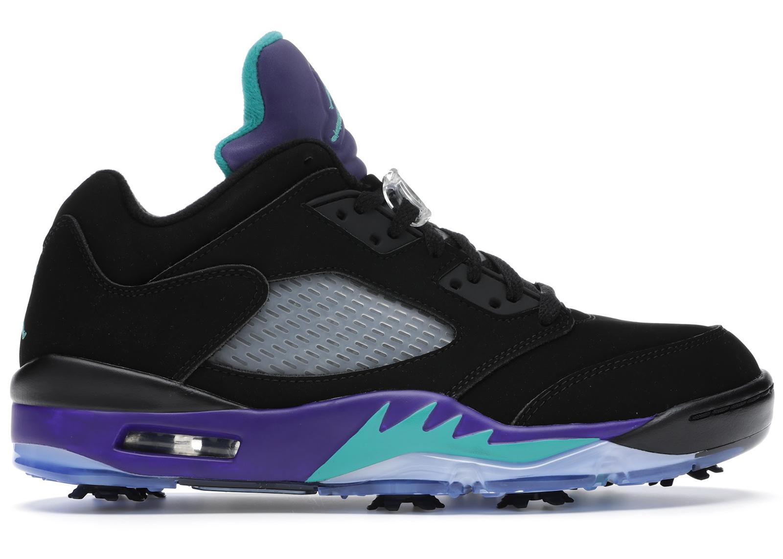 Jordan 5 Retro Low Golf Black Grape