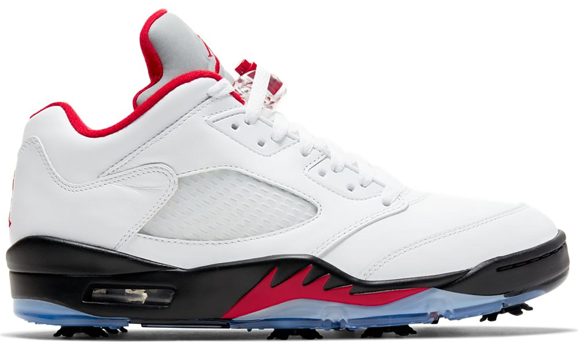 Jordan 5 Retro Low Golf Fire Red