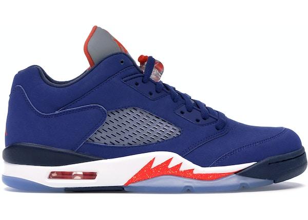 newest 9fa00 29d96 Jordan 5 Retro Low Knicks