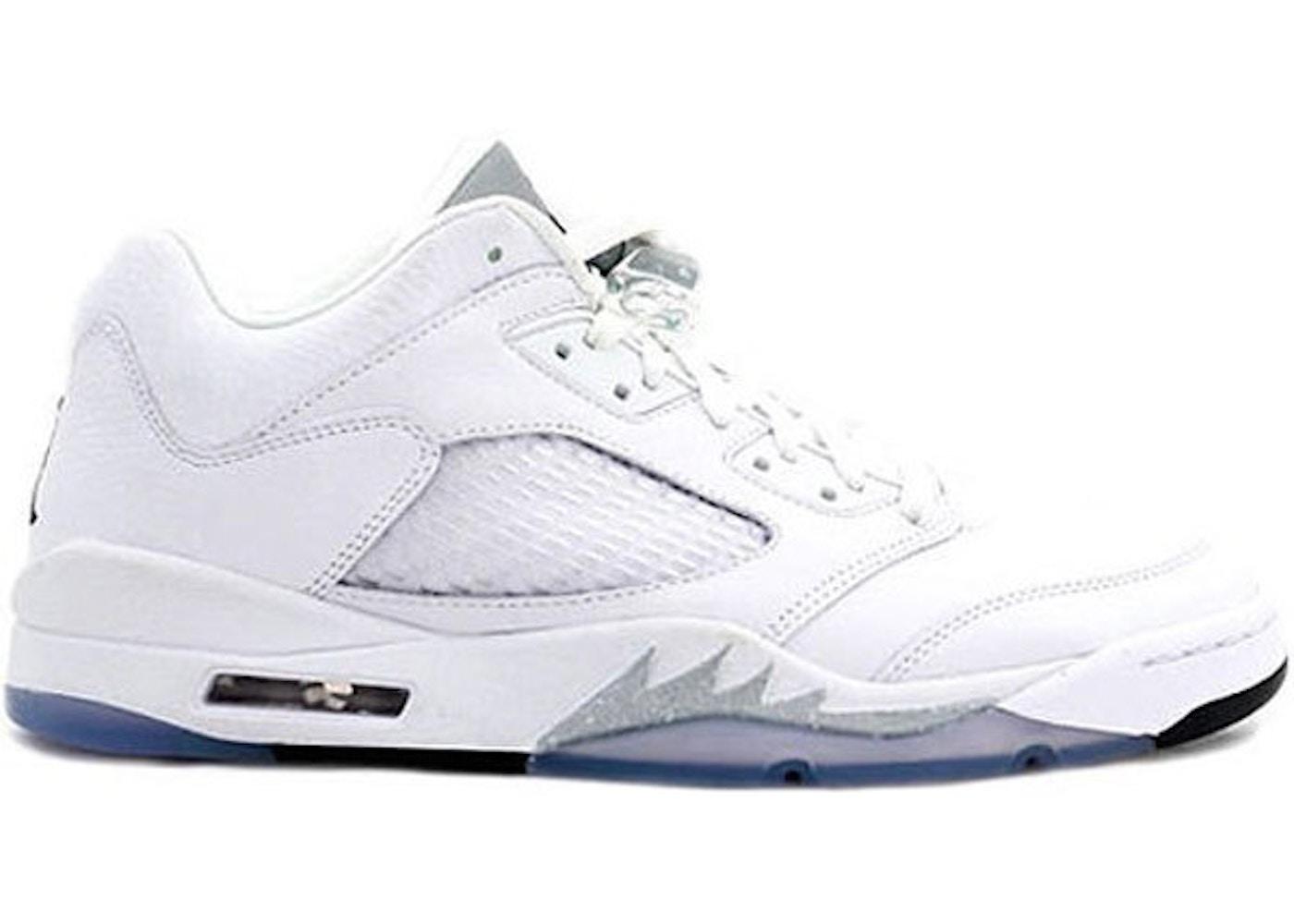 42ce43774c6bc1 Sell. or Ask. Size  11W. View All Bids. Jordan 5 Retro Low Metallic White  ...
