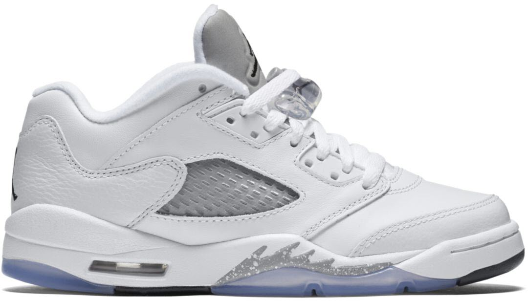 Jordan 5 Retro Low Wolf Grey (GS)